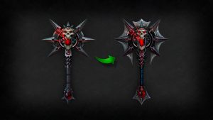 Death Knight Two-handed axe (2)